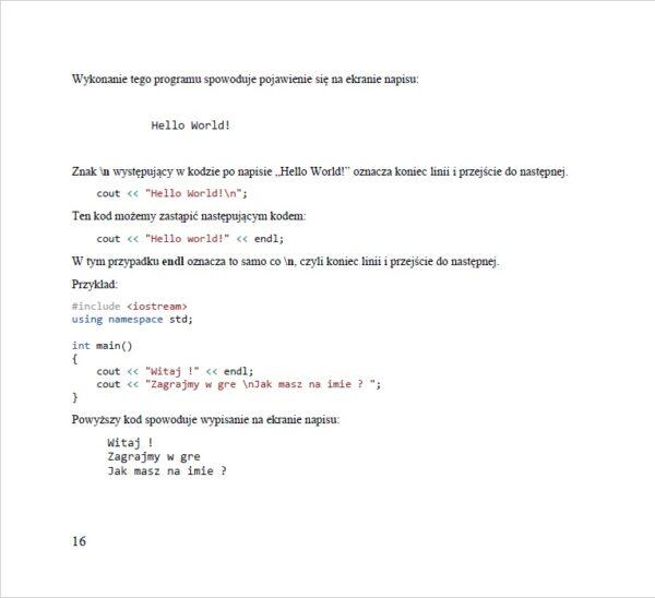 Nauka programowania dla dzieci Lekcja 2