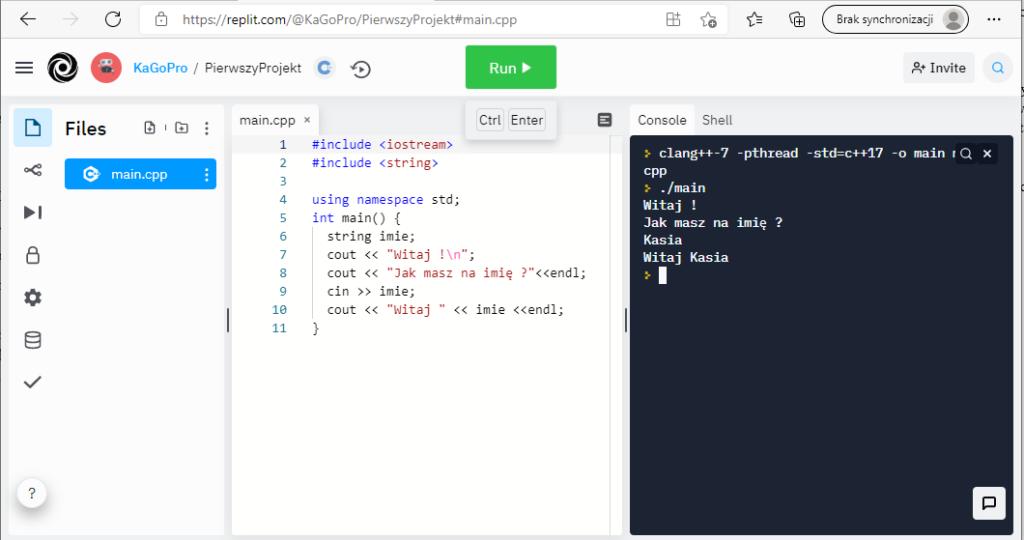 Programowanie w języku C++